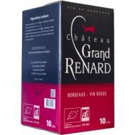 Château Grand Renard rouge 2017 BIB 5L