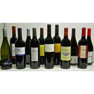 Coffret de dégustation de 12 vins biodynamiques blancs et rouges